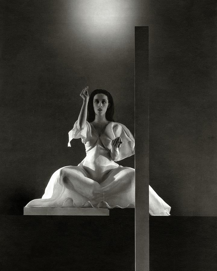 Martha Graham In Primitive Mysteries Photograph by Edward Steichen