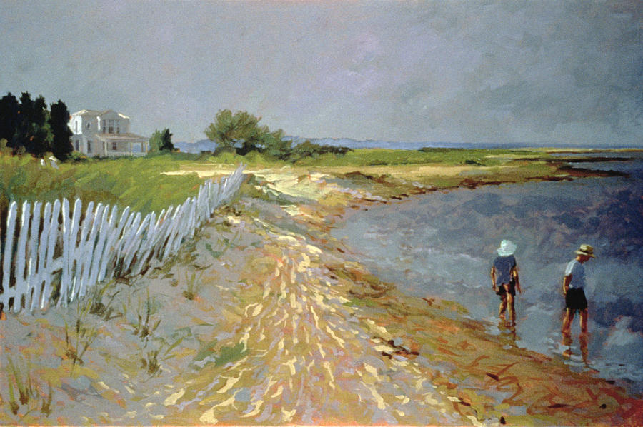 Marthas Vineyard Painting By Sarah Butterfield