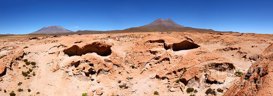 Bolivia Photograph - Martian Landscapes On Earth by James Brunker