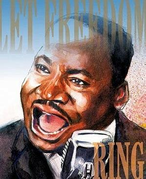 Martin Luther King Painting - Martin Luther King by Gregory DeGroat
