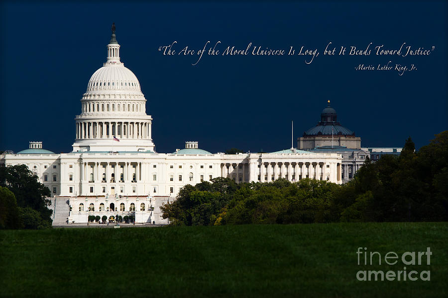 Washington Dc Photograph - Martin Luther King Jr. by Doug Sturgess