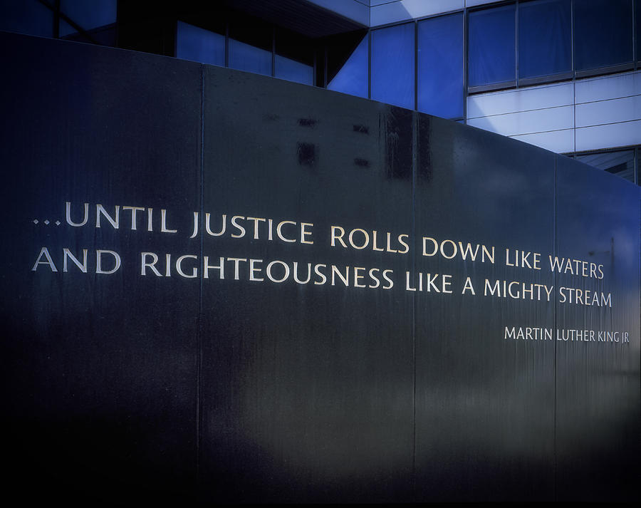 Montgomery Photograph - Martin Luther King Jr Inscription by Mountain Dreams
