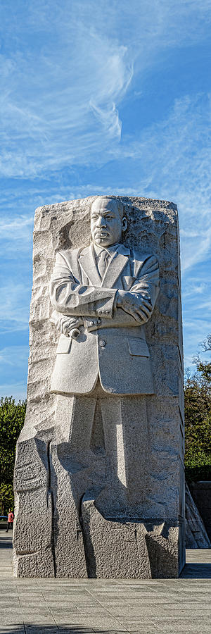 Vertical Photograph - Martin Luther King Jr. Memorial At West by Panoramic Images