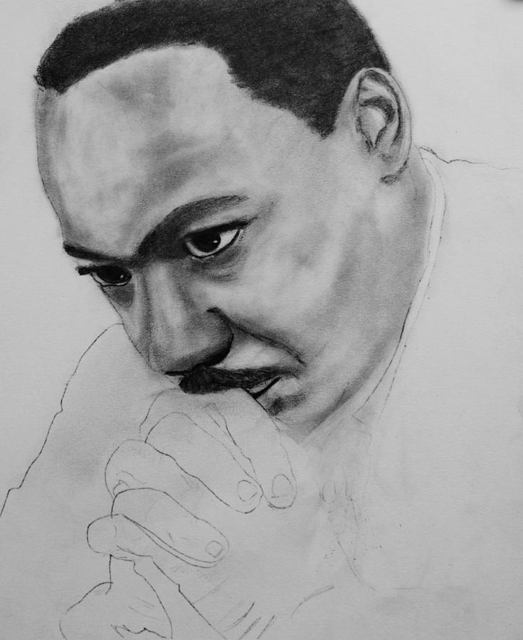 It is a photo of Resource Martin Luther King Drawing