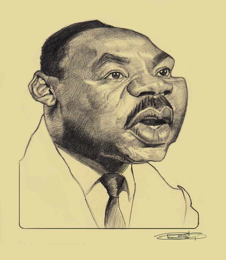 It's just a picture of Magic Martin Luther King Drawing