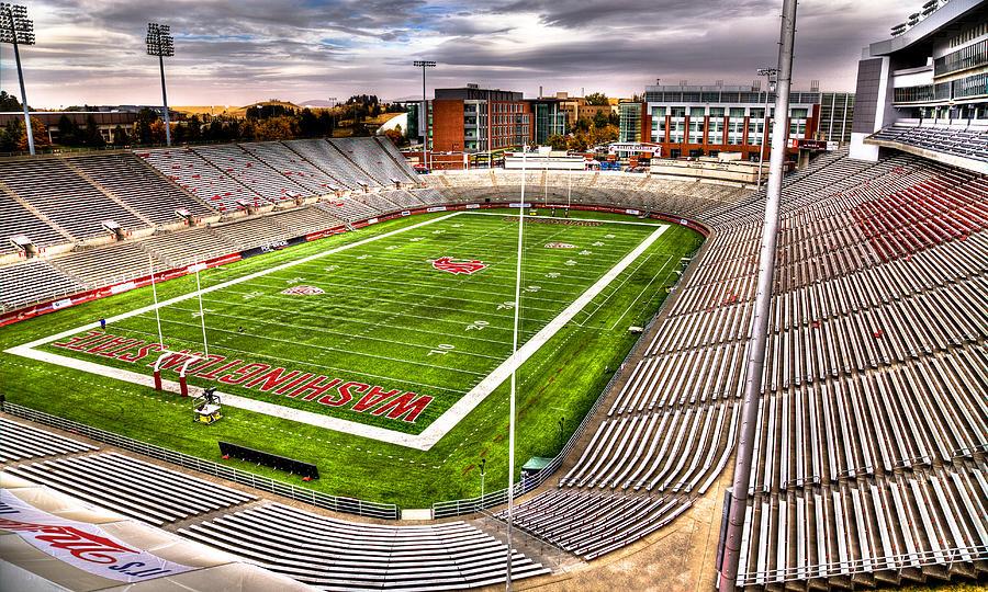 Washington State University Photograph - Martin Stadium At Washington State by David Patterson