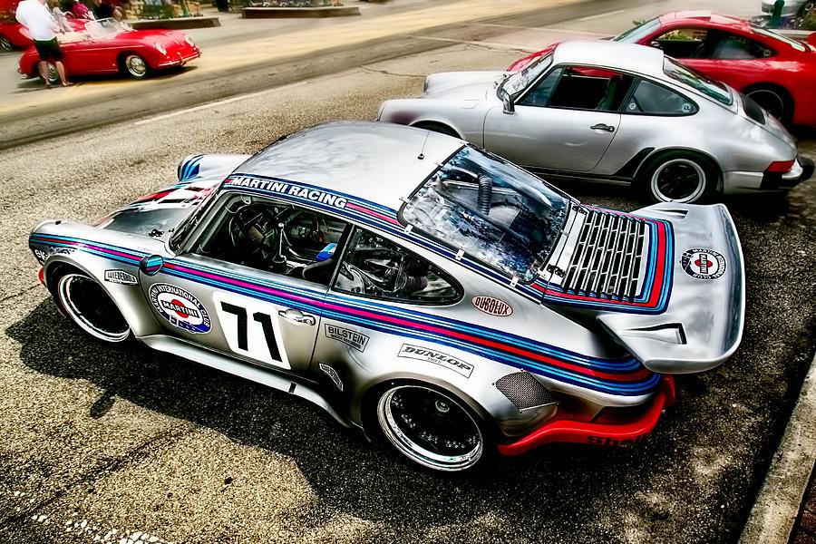 Martini Porsche Photograph By Michael Rankin