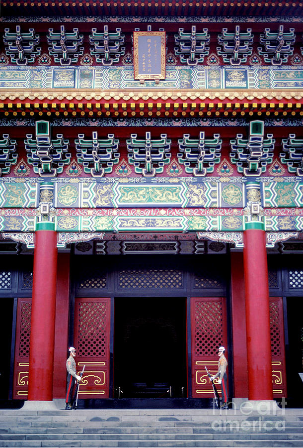 Taipei Photograph - Martyrs Shrine In Taipei by Anna Lisa Yoder