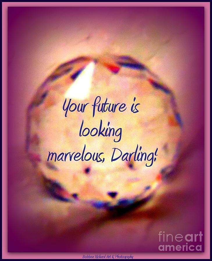 Acrylic Prints Photograph - Marvelous Darling by Bobbee Rickard