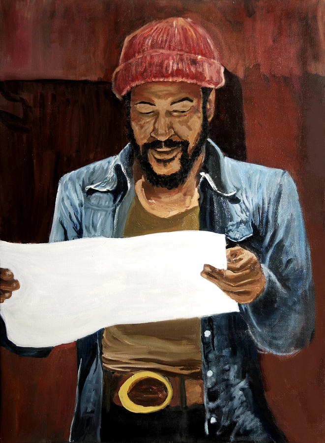 Marvin Gaye Painting - Marvin2 by Roger  James
