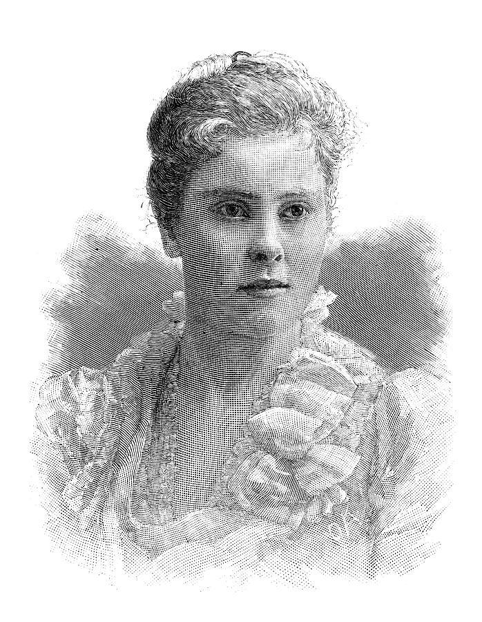 1888 Painting - Mary Crowninshield Endicott Chamberlain by Granger