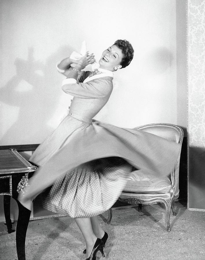 Mary Martin Dancing Photograph by Horst P. Horst