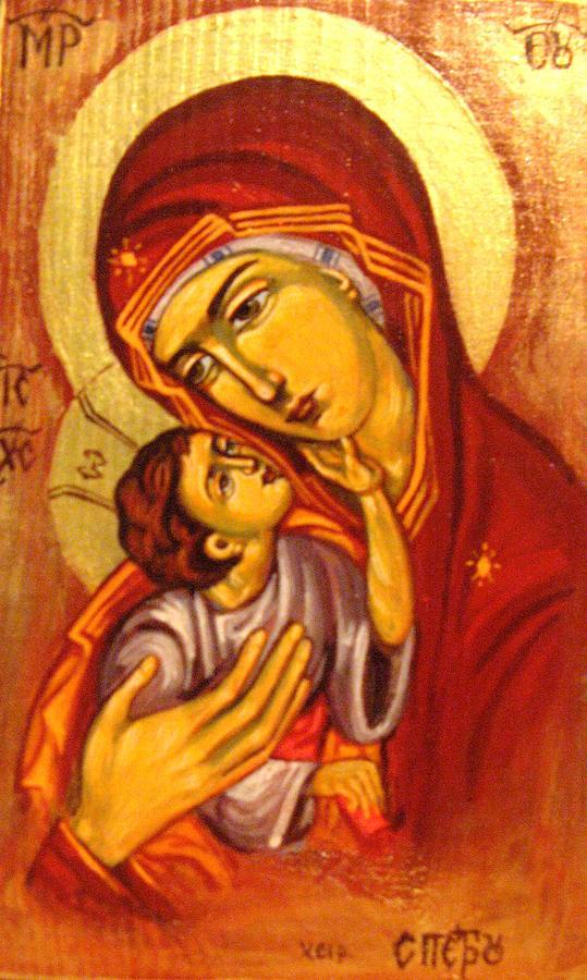 Mary Painting - Mary by Sonya Grigorova