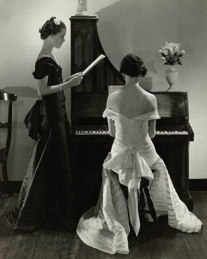 Mary Taylor And Mrs Robert H Mcadoo Photograph by Edward Steichen