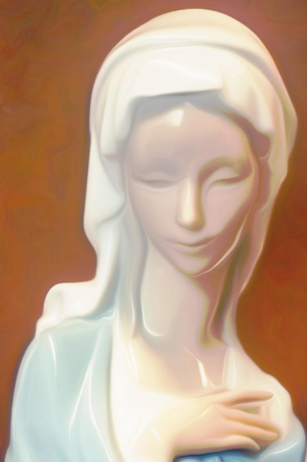 Virgin Mary Digital Art - Marydonna by Shawn Lyte