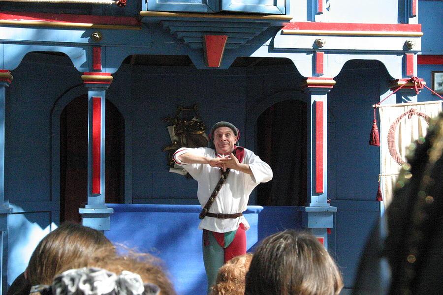 Maryland Photograph - Maryland Renaissance Festival - A Fool Named O - 121226 by DC Photographer