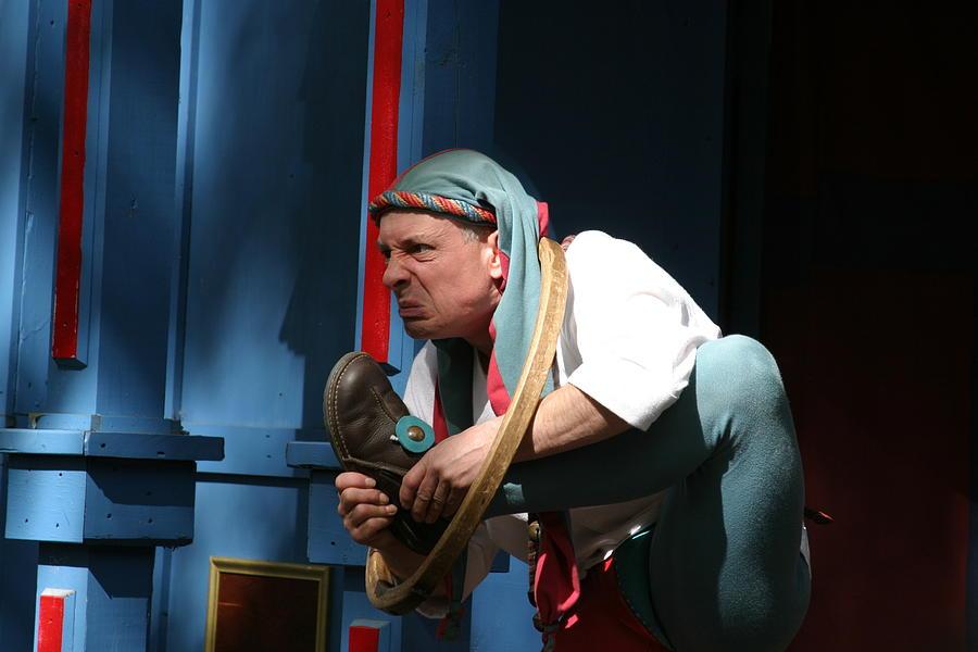 Maryland Photograph - Maryland Renaissance Festival - A Fool Named O - 121234 by DC Photographer