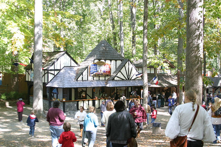 Maryland Photograph - Maryland Renaissance Festival - People - 121222 by DC Photographer
