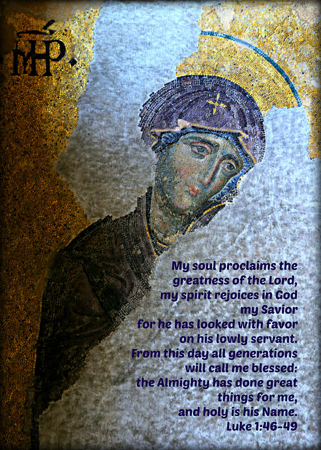 Magnificat Photograph - Marys Magnificat by Stephen Stookey