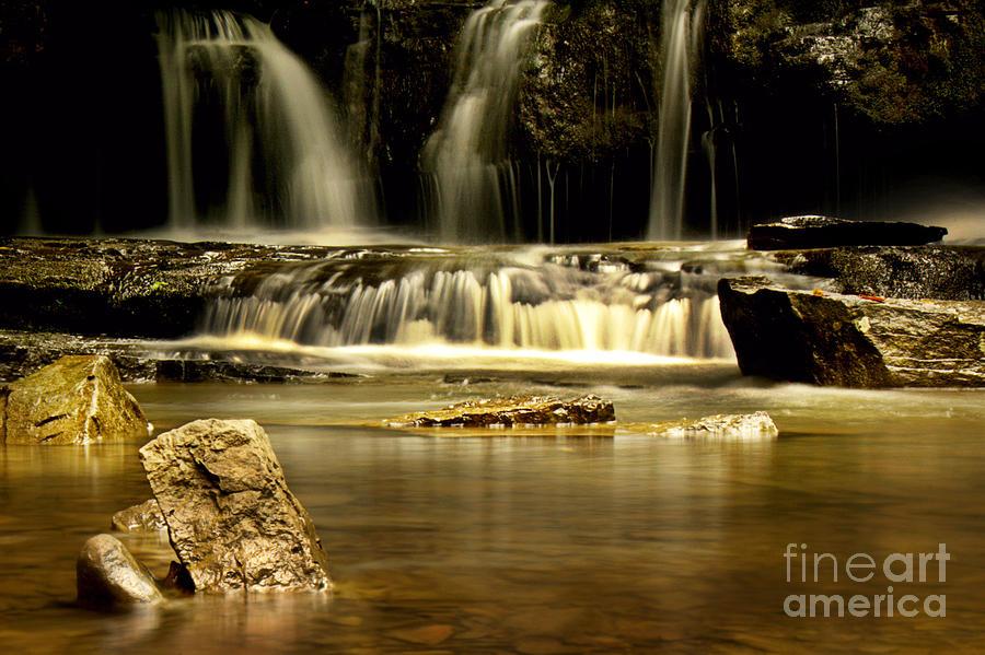 Waterfall Photograph - Mash Fork Falls by Melissa Petrey