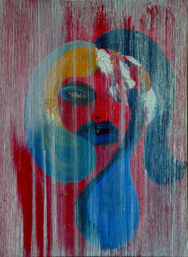 Water Painting - Masika by LeeAnn Alexander