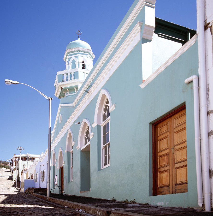Bo Kaap Photograph - Masjid Boorhaanol Bo Kaap by Shaun Higson