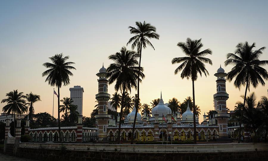 Masjid Jamek - Kuala Lumpur Photograph by @ Didier Marti