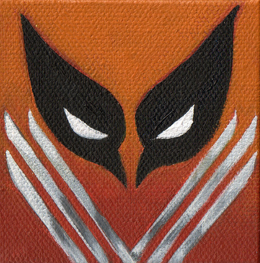 Acrylic Painting - Mask and Blades by Arturo Vilmenay