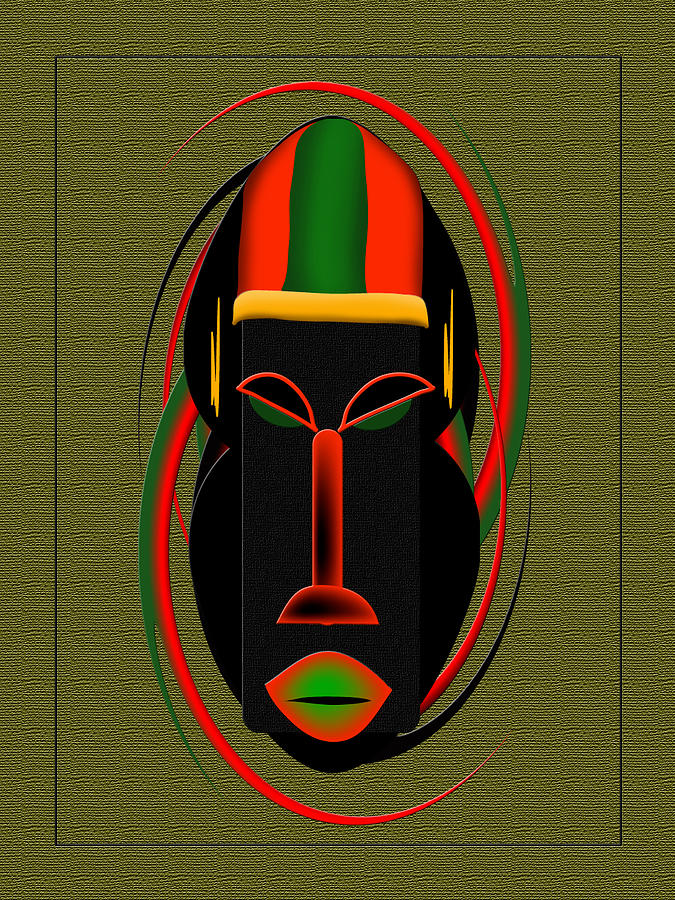 mask II by Terry Boykin