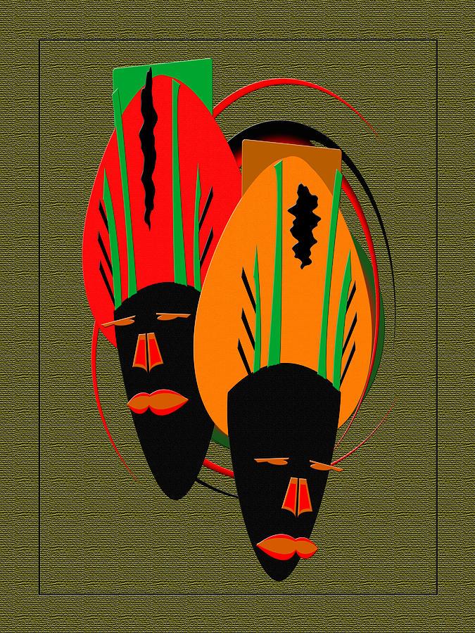 mask III by Terry Boykin