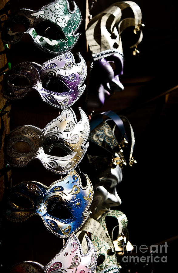 Italy Photograph - Mask In Florence by Marco Affini