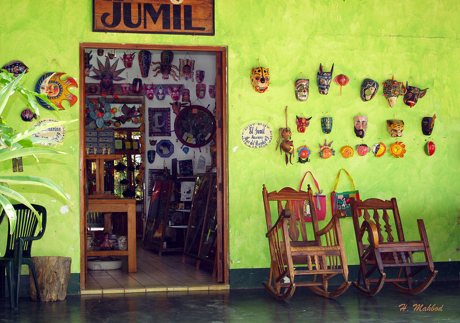 mask shop in Mexico Photograph by Haleh Mahbod