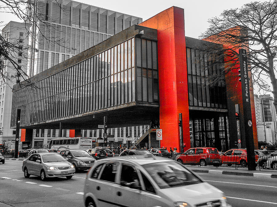 Museum Photograph - Masp by Fabio Giannini