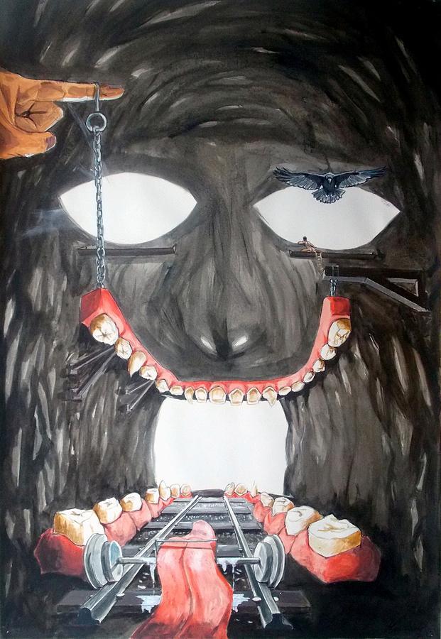 Masquera Carcaza Painting