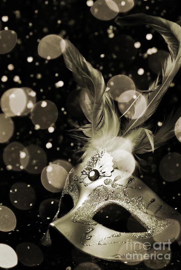 Mask Photograph - Masquerade by Jelena Jovanovic