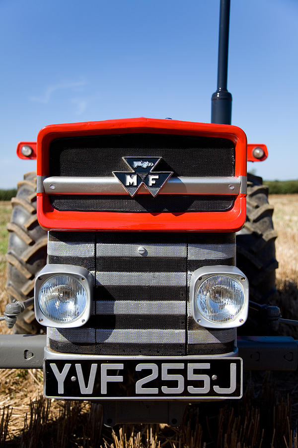 Ferguson Photograph - Massey Ferguson 135 Vintage Tractor by Paul Lilley