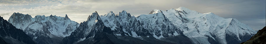 Massif Of Mont Blanc Photograph by Samuel Gachet