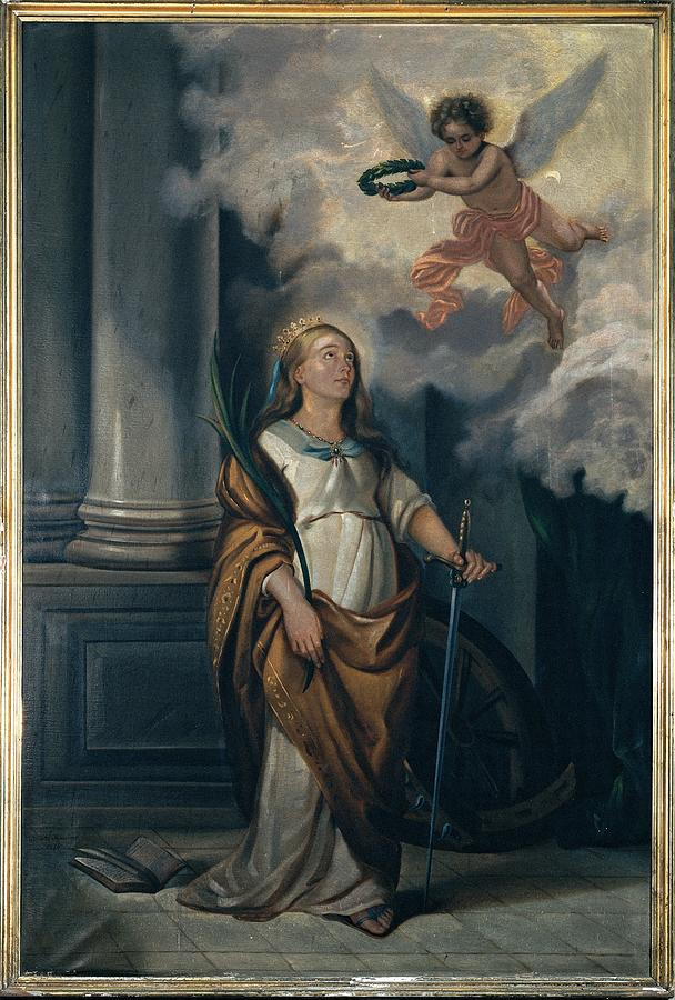 Catherine Photograph - Massimo Diodato, St Catherine by Everett