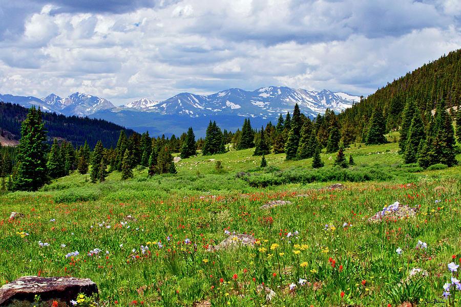 Rocky Mountains Photograph - Massive Backdrop by Jeremy Rhoades