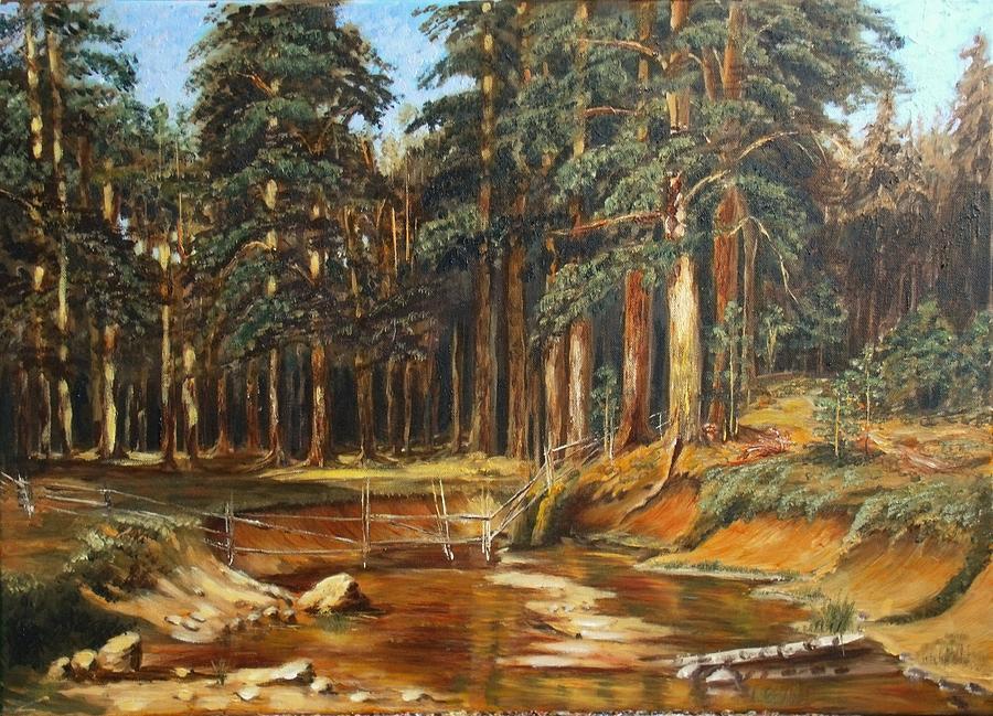 Mast Tree Grow Painting