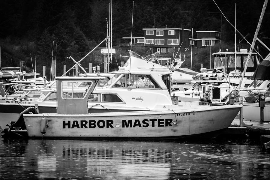 Transportation Photograph - Master Of The Harbor by Melinda Ledsome