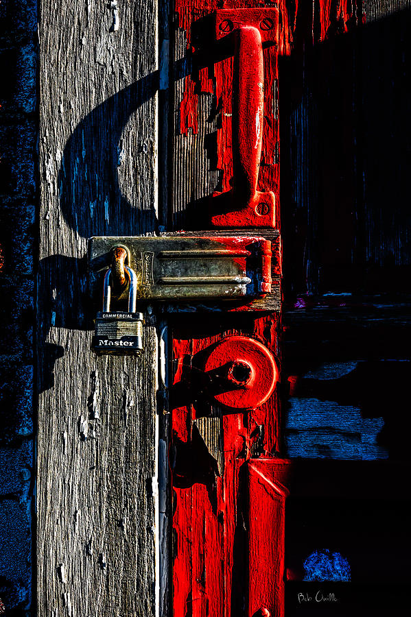 Abstract Photograph - Master Of The Old Red Barn by Bob Orsillo
