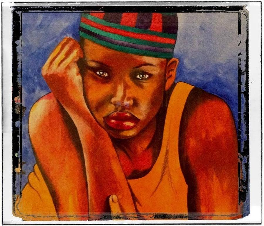 Masters Degree Painting by Schroder Konate