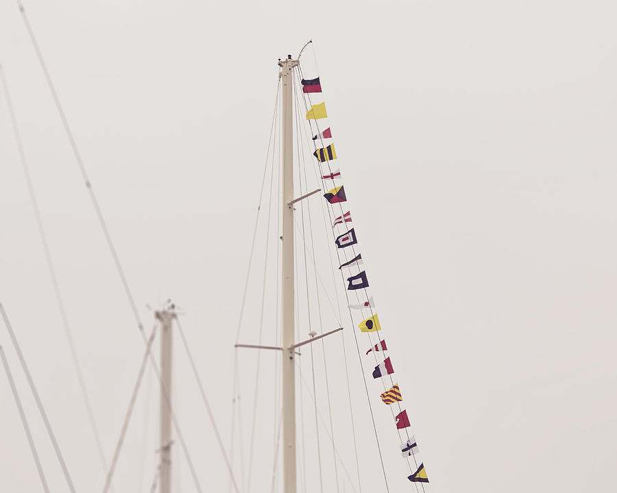 Masts Photograph - Masts by Jillian Audrey Photography