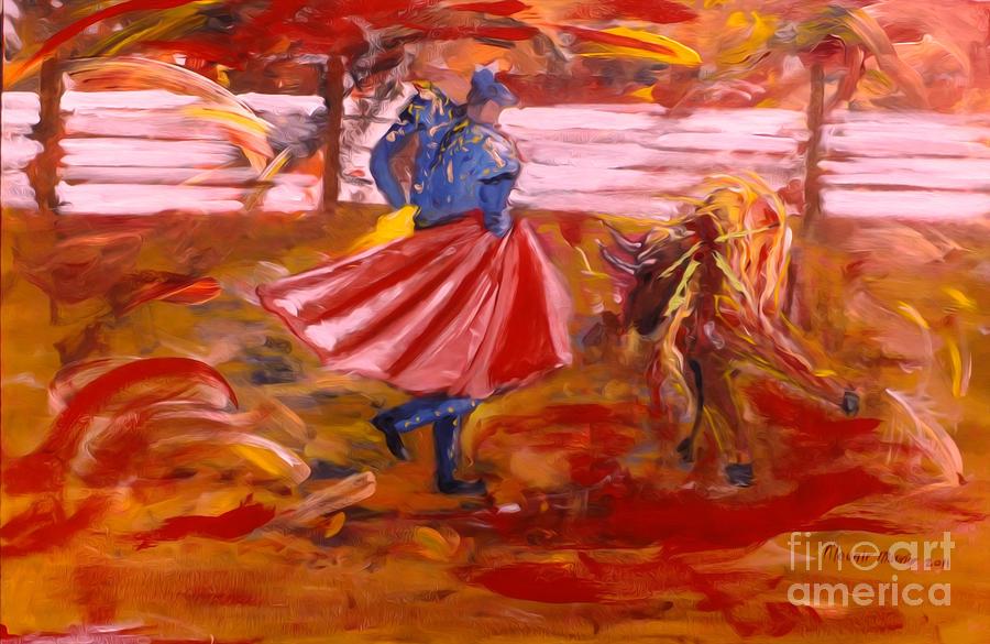 Matador Painting - Matador by Mounir Mounir