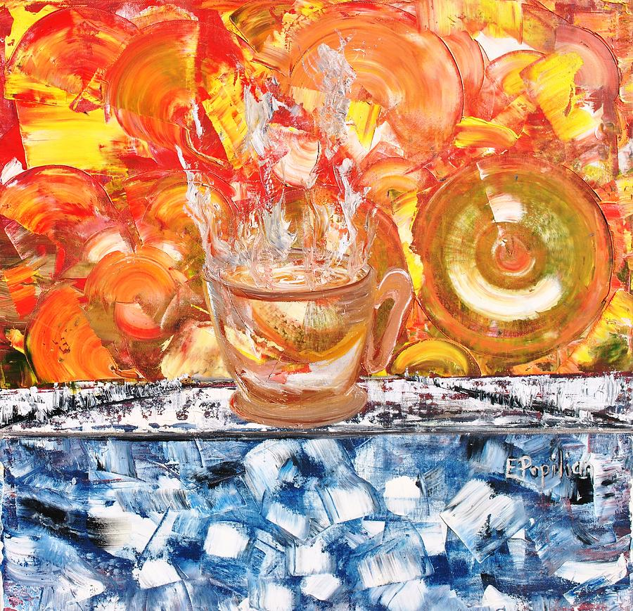 Abstract Painting - Matinal by Evelina Popilian