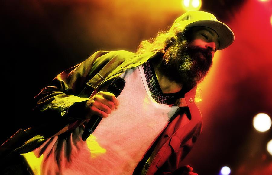 Matisyahu Photograph - Matisyahu Live In Concert 2 by Jennifer Rondinelli Reilly - Fine Art Photography