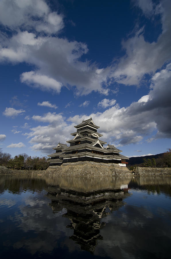 Castle Photograph - Matsumoto-jo by Aaron Bedell