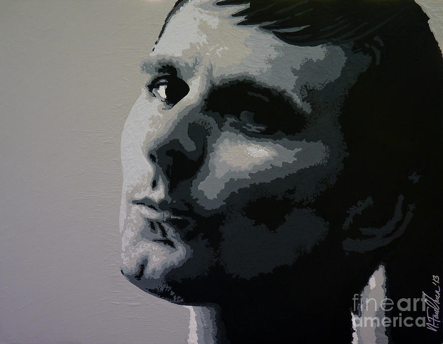 Matt Painting - Matt Bellamy - Look at Me by N Faulkner