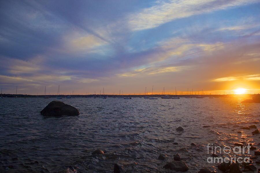 Sunset Photograph - Mattapoisett Sunset by Amazing Jules